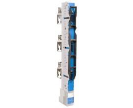 NSL-E3 160A gr00/185mm zacisk ramkowy 95mm2 z podwyższającymi wspornikami- do przekładników prądowych