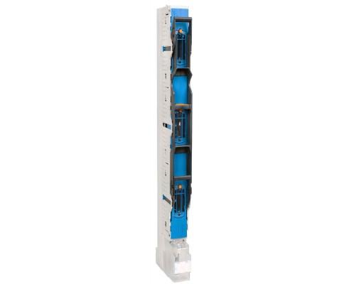 NSL-E3 160A gr00/185mm z zaciskem V-klema 150mm2 z podwyższającymi wspornikami