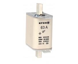 N Wkładka bezpiecznikowa szybka Gr.00 63A AC 500V gF