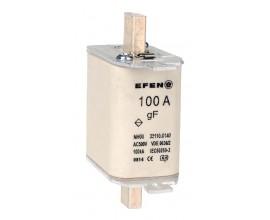 N Wkładka bezpiecznikowa szybka Gr.00 100A AC 500V gF