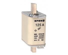 N Wkładka bezpiecznikowa szybka Gr.00 125A AC 500V gF