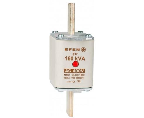 N Wkładka bezpiecznikowa Gr.2 160kVA AC 400V gTr