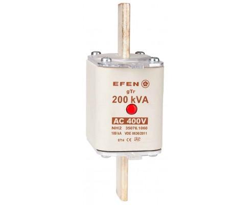 N Wkładka bezpiecznikowa Gr.2 200kVA AC 400V gTr
