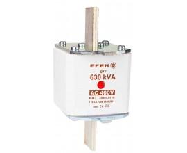 N Wkładka bezpiecznikowa Gr.3 630kVA AC 400V gTr