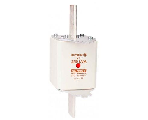 N Wkładka bezpiecznikowa Gr.4a 250kVA AC 400V gTr