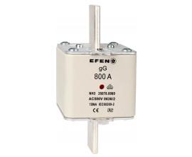 N Wkładka bezpiecznikowa Gr.3 800A AC 500V gG