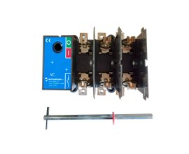 TE Rozłącznik NH 00C VC1F 0-1 45A 3P TH35 bez napędu