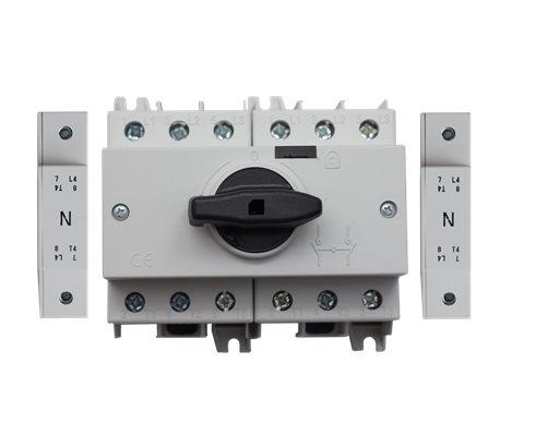 TE Przełącznik CO SD2 1-0-2 100A 4P TH35