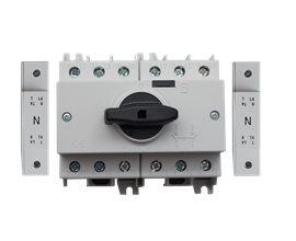 TE Przełącznik CO SD3 1-0-2 125A 4P TH35