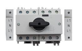 TE Przełącznik CO SD1 1-0-2 16A 4P TH35