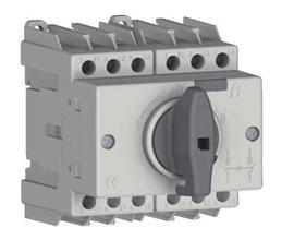 TE Przełącznik CO SD1 1-0-2 32A 3P TH35