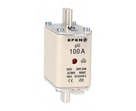 N Wkładka bezpiecznikowa Gr.00 100A AC 500V gG