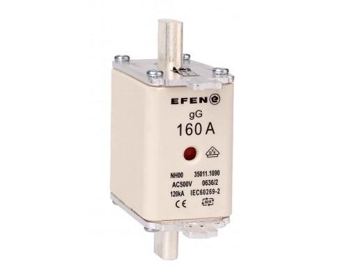 N Wkładka bezpiecznikowa Gr.00 160A AC 500V gG