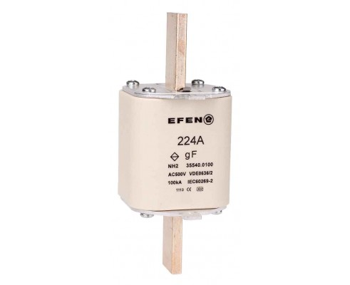 N Wkładka bezpiecznikowa szybka Gr.2 224A AC 500V gF