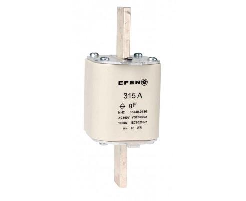 N Wkładka bezpiecznikowa szybka Gr.2 315A AC 500V gF