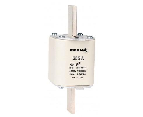 N Wkładka bezpiecznikowa szybka Gr.2 355A AC 500V gF