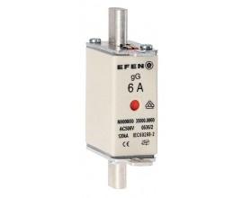 N Wkładka bezpiecznikowa Gr.000 6A AC 500V gG