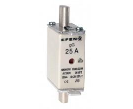 N Wkładka bezpiecznikowa Gr.000 25A AC 500V gG