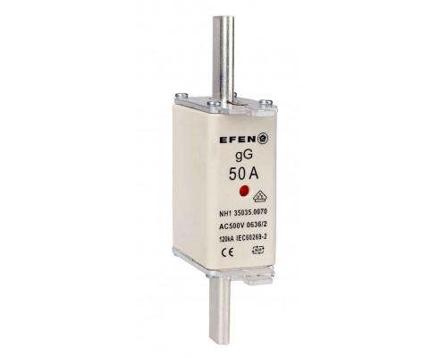 N Wkładka bezpiecznikowa Gr.1C 50A AC 500V gG