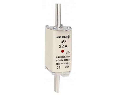 N Wkładka bezpiecznikowa Gr.1C 32A AC 500V gG