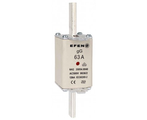 N Wkładka bezpiecznikowa Gr.2C 63A AC 500V gG