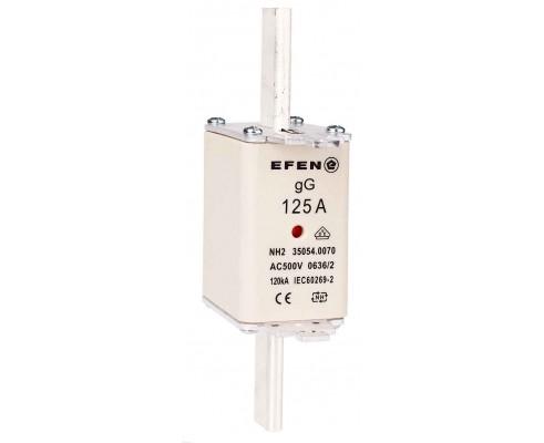 N Wkładka bezpiecznikowa Gr.2C 125A AC 500V gG