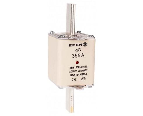 N Wkładka bezpiecznikowa Gr.2 355A AC 500V gG