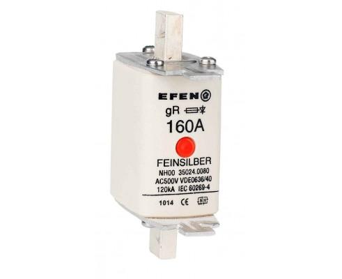 N Wkładka bezpiecznikowa Gr.00 160A AC 500V gR
