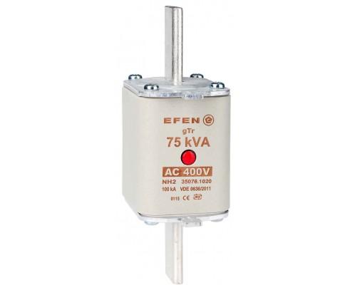N Wkładka bezpiecznikowa Gr.2 75kVA AC 400V gTr