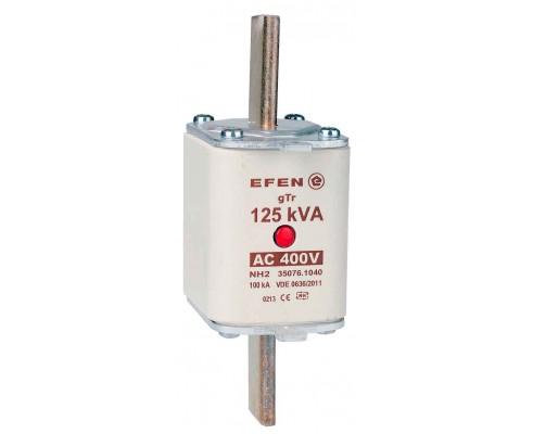 N Wkładka bezpiecznikowa Gr.2 125kVA AC 400V gTr