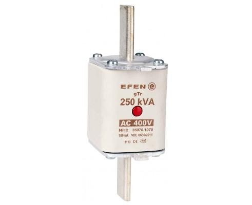 N Wkładka bezpiecznikowa Gr.2 250kVA AC 400V gTr