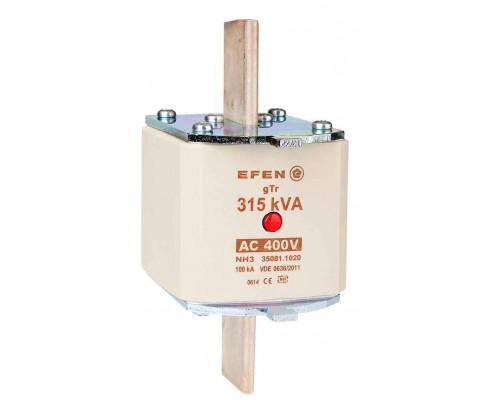 N Wkładka bezpiecznikowa Gr.3 315kVA AC 400V gTr