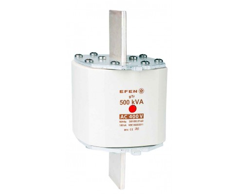 N Wkładka bezpiecznikowa Gr.4a 500kVA AC 400V gTr