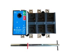 TE Rozłącznik VC1P 0-1 80A 4P TH35 bez napędu