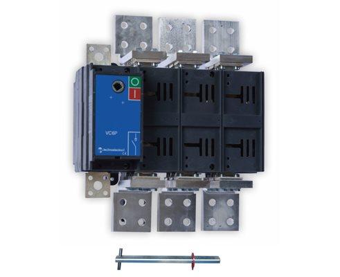 TE Rozłącznik VC6P 0-1 2500A 4P TH35 bez napędu
