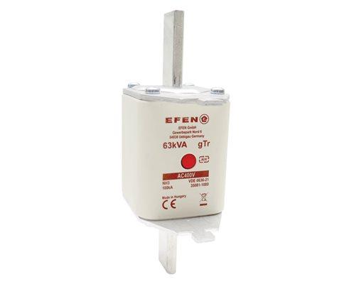 N Wkładka bezpiecznikowa Gr.3 63kVA (90A) AC 400V gTr