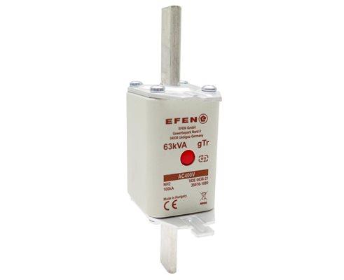 N Wkładka bezpiecznikowa Gr.2 63kVA (90A) AC 400V gTr